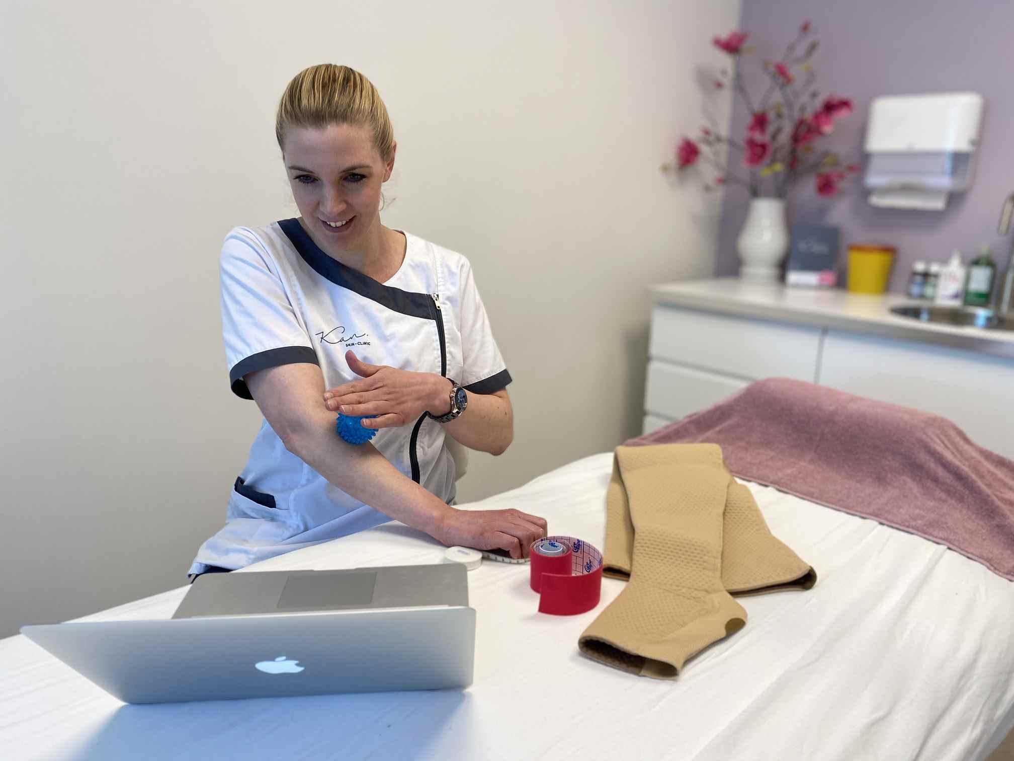 Omgaan met lymfoedeem - Kan Skin Clinic